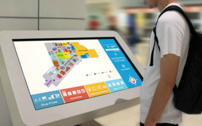 Top 5 uses of Interactive Digital Signage